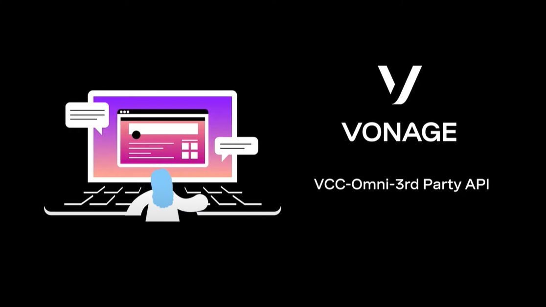 Cover frame for VCC-Omni-3rd Party API video
