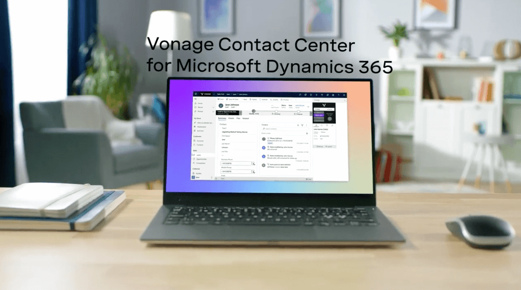 Vonage Contact Center for Microsoft Dynamics 365 Video Posterframe