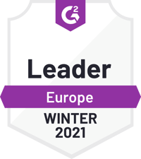 G2 Europe Leader - Winter 2021