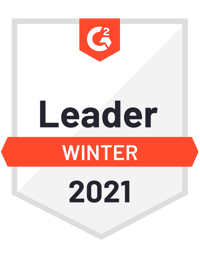G2 Leader - Winter 2021