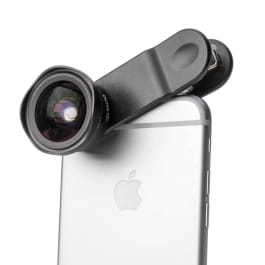 Black Pictar Smart Lens attachment for an i-phone